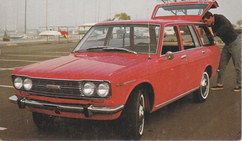 Station Wagon, US postcard, standard size, 3/68, # 108
