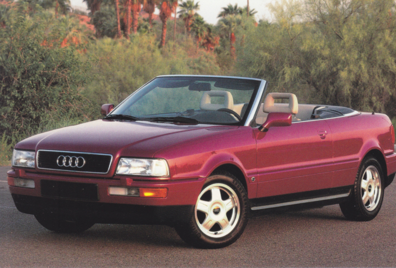 Cabriolet, DIN A6 postcard, USA issue, about 1993