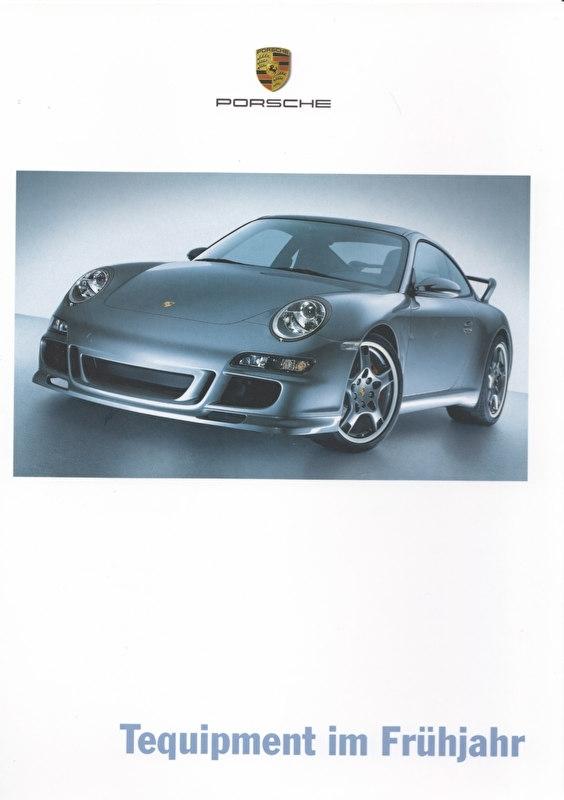 Tequipment Spring brochure, 12 pages + pricelist, 11/2004, German language