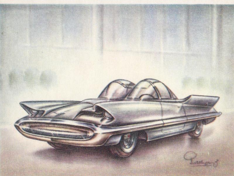 Lincoln Futura 1955, Full Speed, Dutch language, # 96