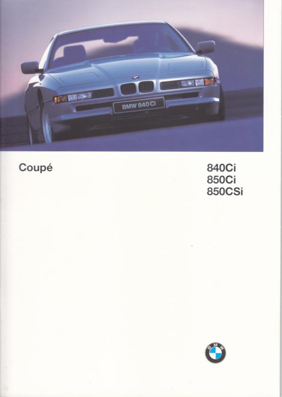 840 Ci/850 Ci/850 CSi brochure, 38 pages, A4-size, 2/1996, German language