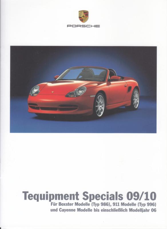 Tequipment Specials brochure + pricelist, 12 + 12 pages, 09/2009, German
