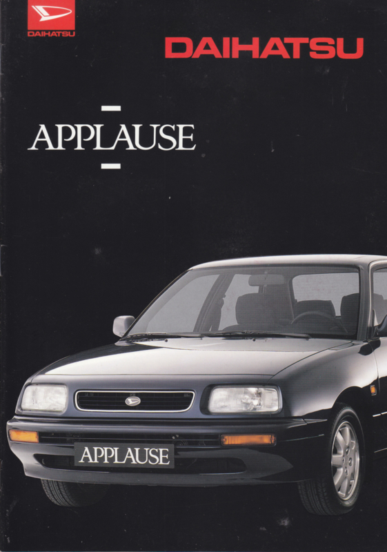 Applause brochure, 16 pages, about 1995, A4-size, Dutch language