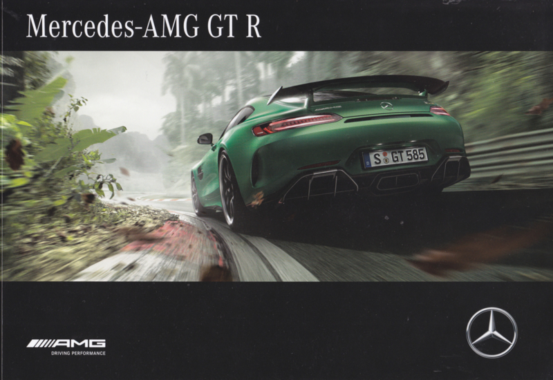 AMG GT R brochure, 40 pages, 03/2017, German language