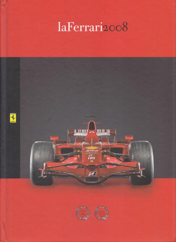 La Ferrari 2008 brochure, A4-size, 104 pages, hard covers, # 95993200, Italian & English language