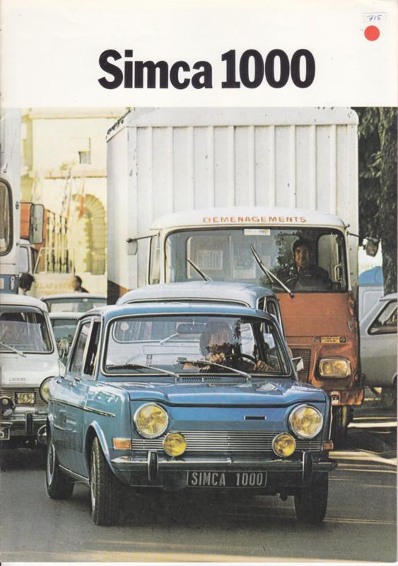 1000 range, 16 pages, 9/1974, Dutch language