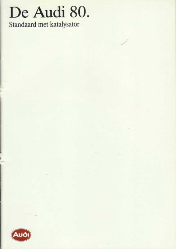 80 brochure, 36 pages, 01/1988, Dutch language