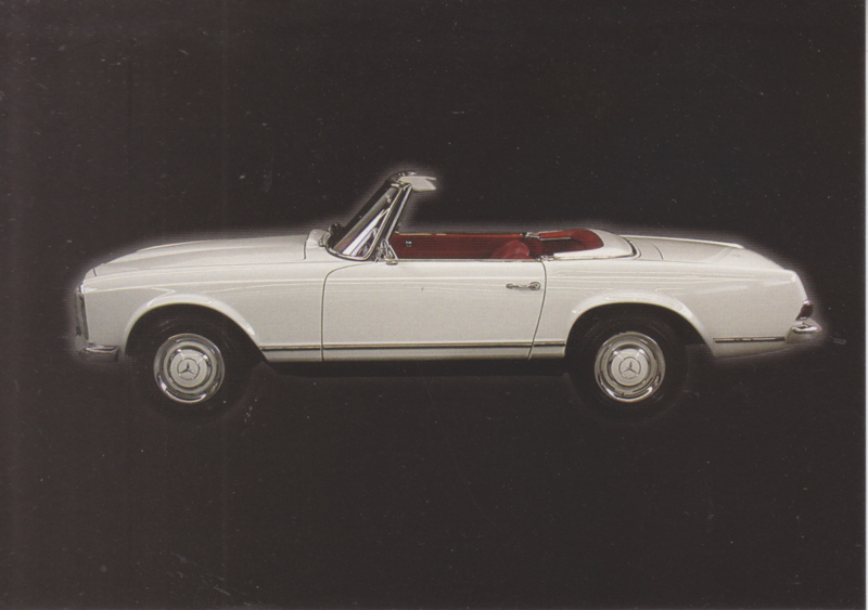 Mercedes-Benz 230 SL 1965, Classic Car(d) of the month 3/2003, Germany