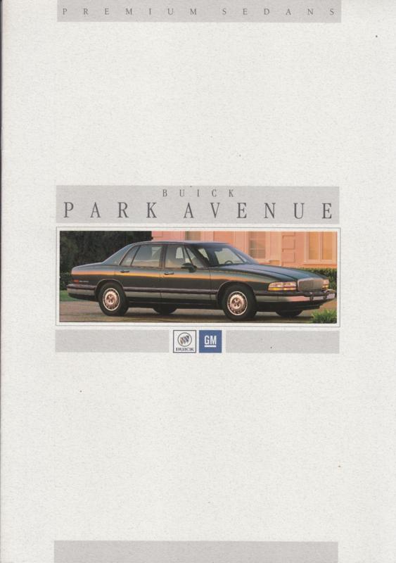 Park Avenue 1994, 12 page folder, Dutch language
