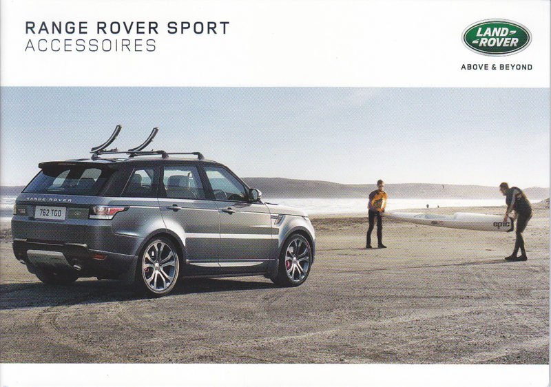Sport accessories brochure, 20 A5-size pages, 07/2016, Dutch language