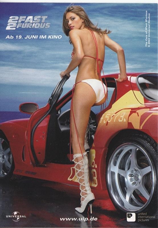 2Fast2Furious, the movie, German freecard by Edgar, # 6311, 2003