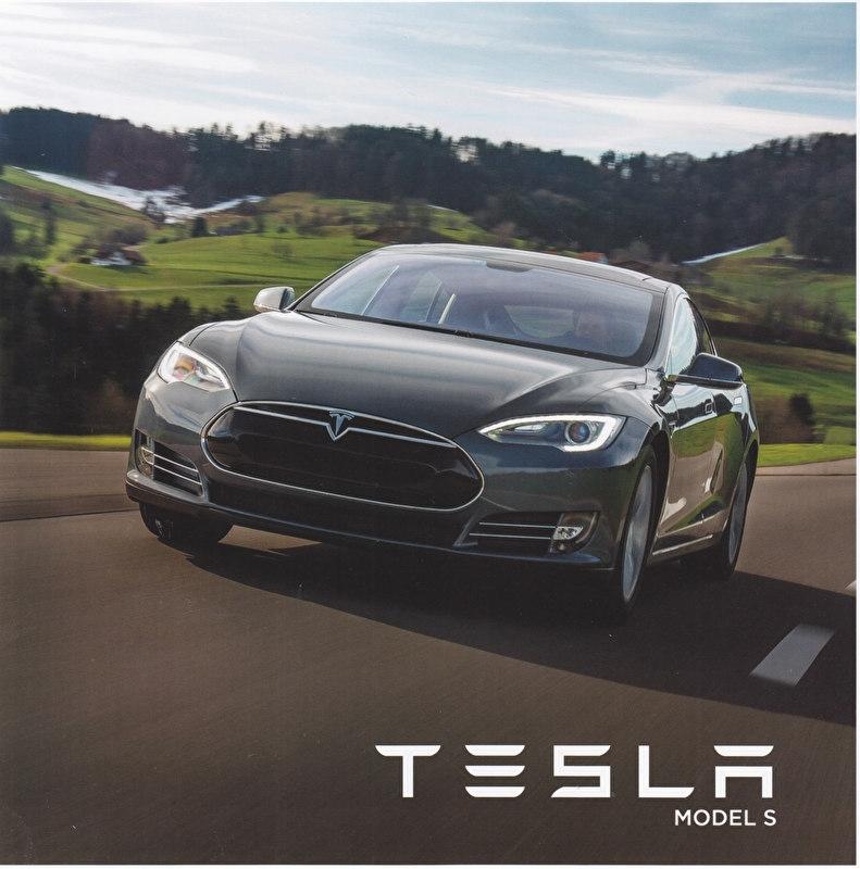 Model S brochure, 8 pages, 20,5 x 20,5 cm, Dutch language (Belgium)