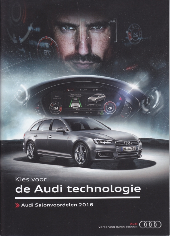 Program Autosalon brochure, 36 pages, 12/2015, Dutch language