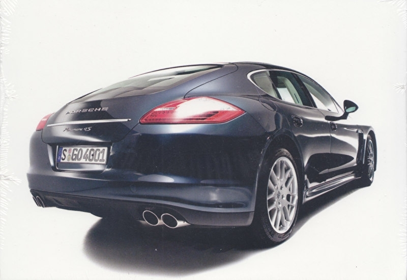 Panamera, A6-size set with 17 different postcards by photographer Frank Orel, still wrapped, MAP09003709
