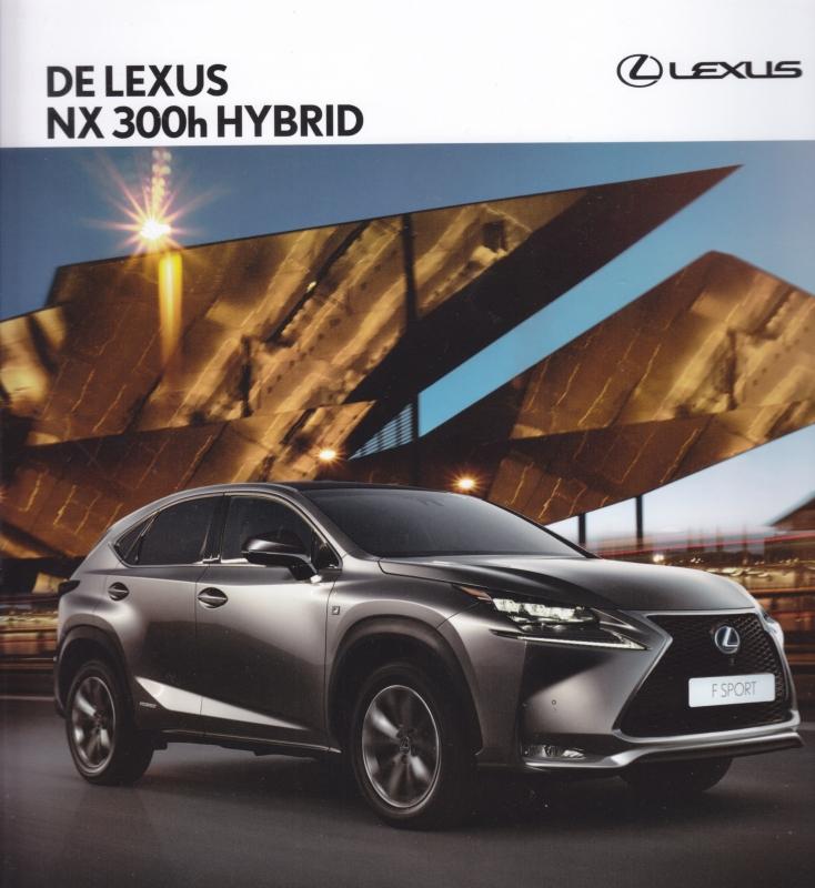 NX 300 h Hybrid brochure, 64 square (23cm) pages, 02/2015, Dutch language
