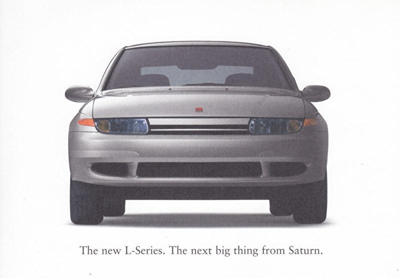 L-Series Sedan & Wagon, 18 x12,5 cm, English language, USA