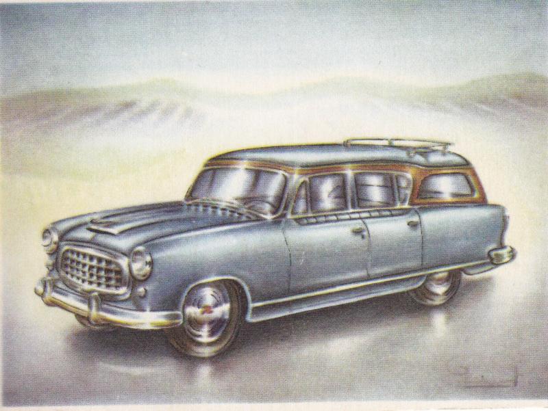 Nash Rambler Cross Country 1955, Full Speed, Dutch language, # 101