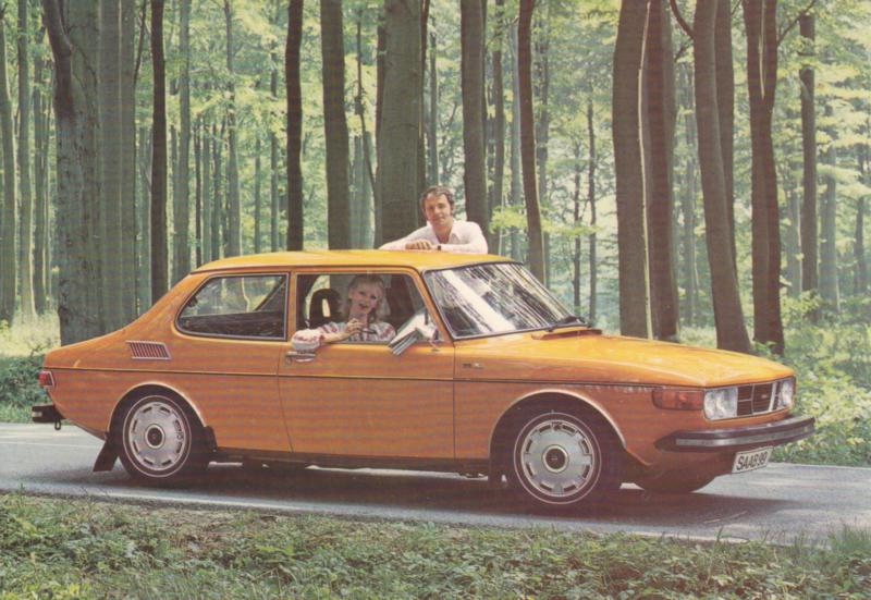 99 LE 2-door Sedan, Swedish, factory-issue, # 201707, 1974