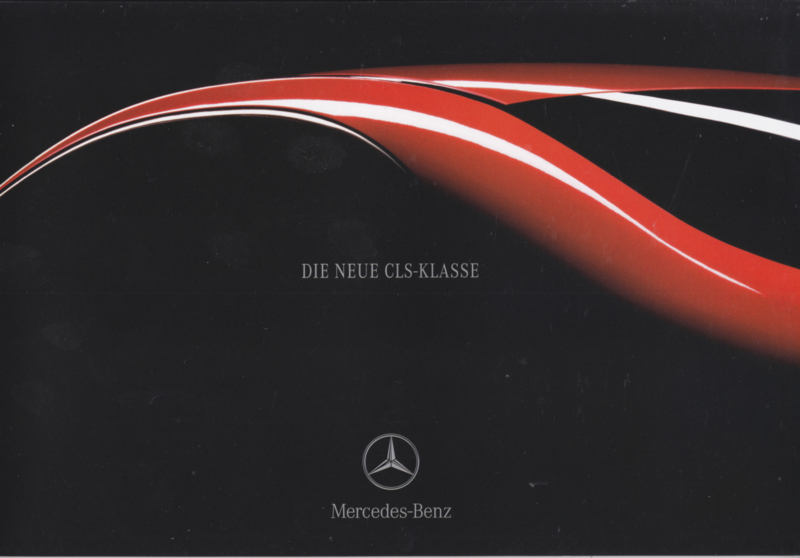 CLS Class intro brochure. 14 pages, 02/2004, German language