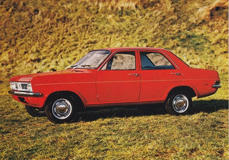 Viva 4-Door Sedan, A6-size postcard, 1970, Dutch language