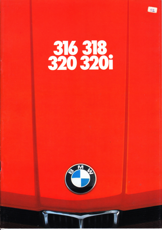 316/318/320/320i brochure, 32 pages, A4-size, 2/1976, English language