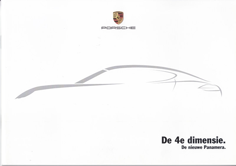Panamera intro brochure, 36 pages, 10/2008, Dutch