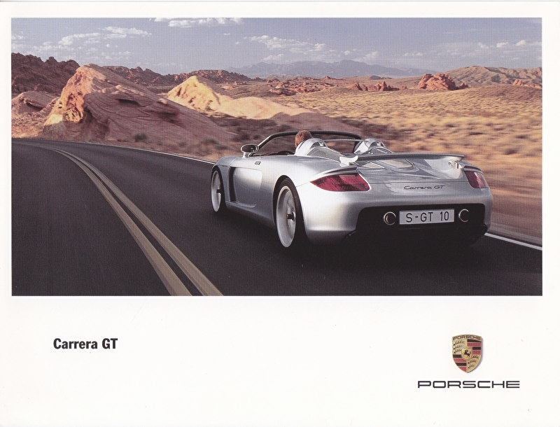 Carrera GT, 3 languages, factory-issue, WVK 179 013