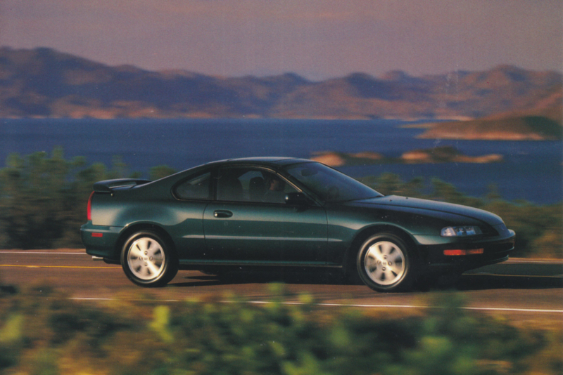 Prelude VTEC Coupe, US postcard, continental size, 1993, # ZO313