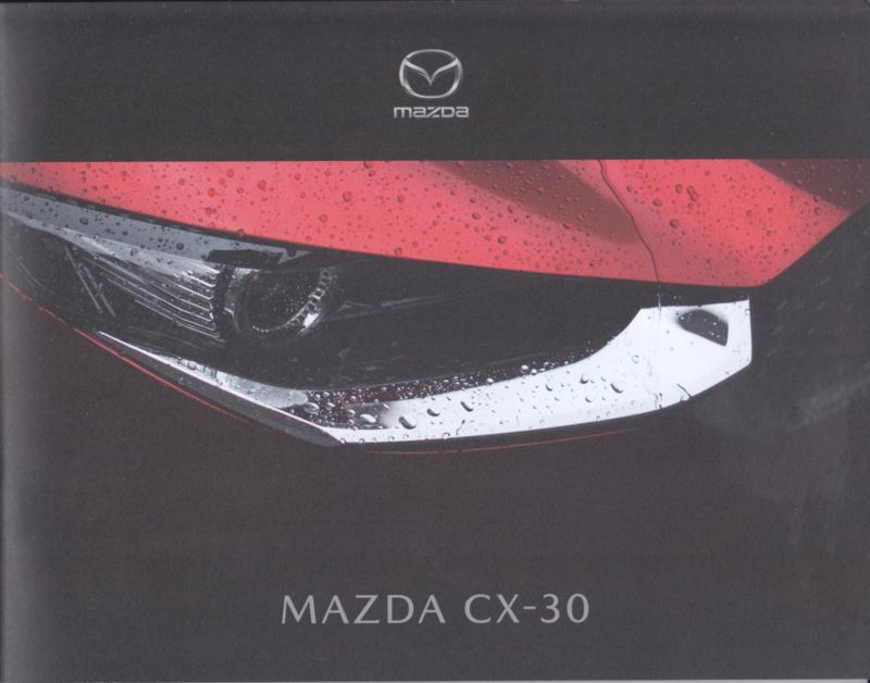 CX-30 brochure, 28 pages, 2019, Dutch language