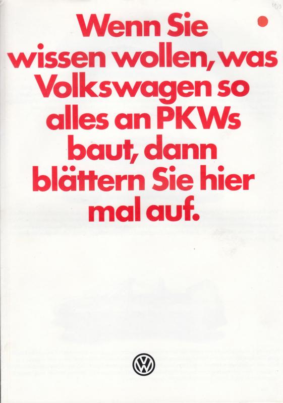 Program brochure, 8 pages,  A4-size, German language, 08/1979