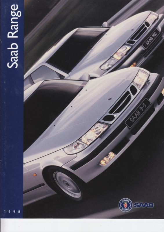 Program brochure, 20 pages, 1998, Dutch language, # 565911
