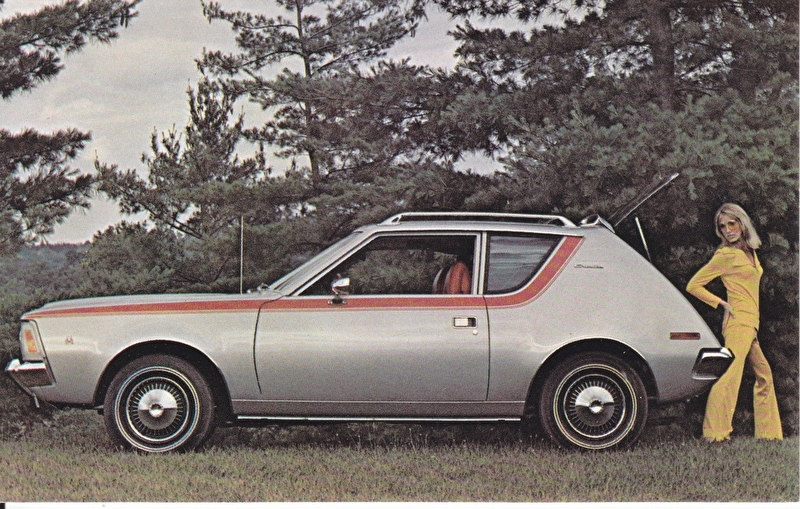 Gremlin, US postcard, standard size, 1971