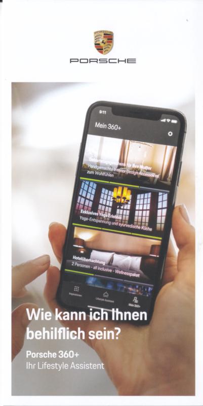 360+ Lifestyle Assistant folder, 6 smaller pages, 2019, German language