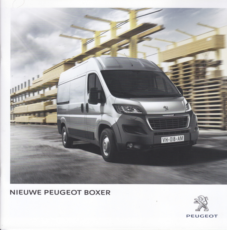 Boxer Van brochure, 32 pages, Dutch language, 06/2014, Belgium