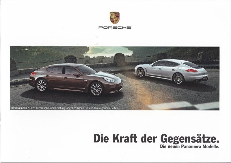 Panamera brochure, 24 pages, 04/2013, German