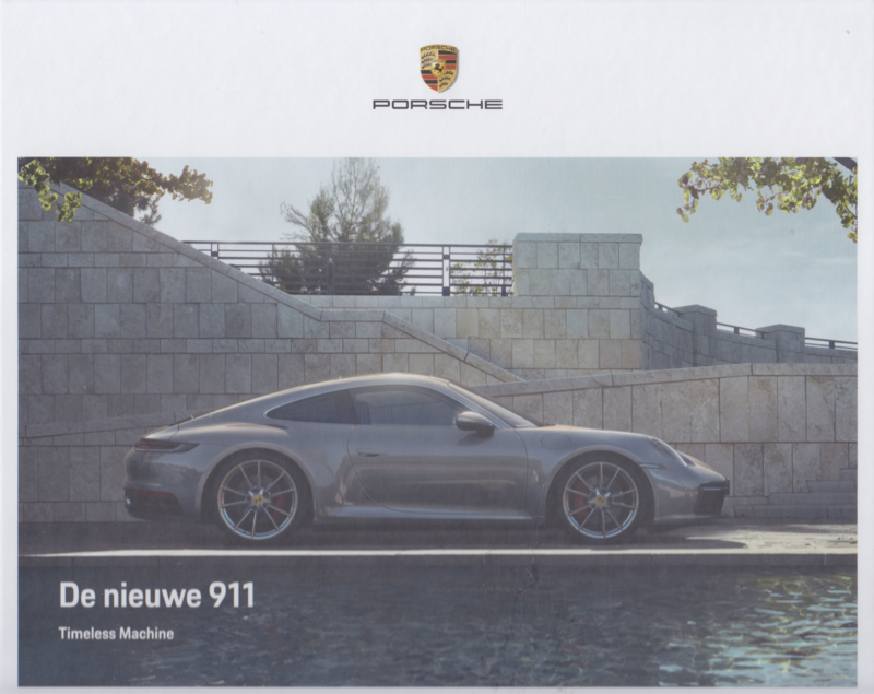 911 Carrera Coupe brochure, 48 large pages, 11/2018, Dutch, hard covers
