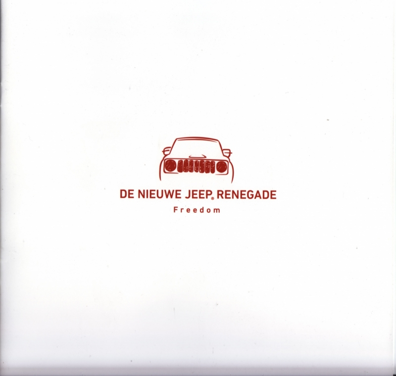 Renegade Freedom brochure, 8 pages, 03/2015, Dutch language