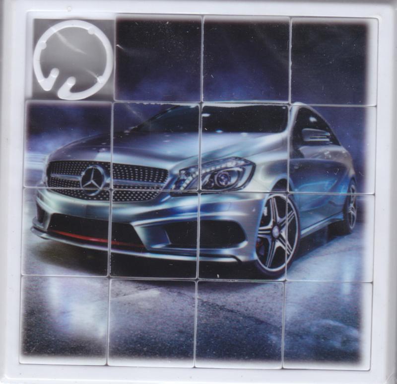 Mercedes-Benz A-Class Sedan, mini puzzle, unopened