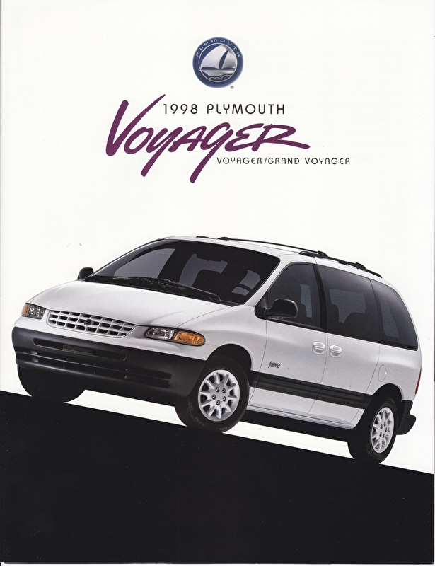 Voyager / Grand Voyager model brochure 1998, 8 pages, 08/1997, USA