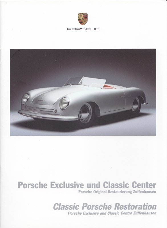 Classic restauration brochure, 20 pages, 07/2003, German/English