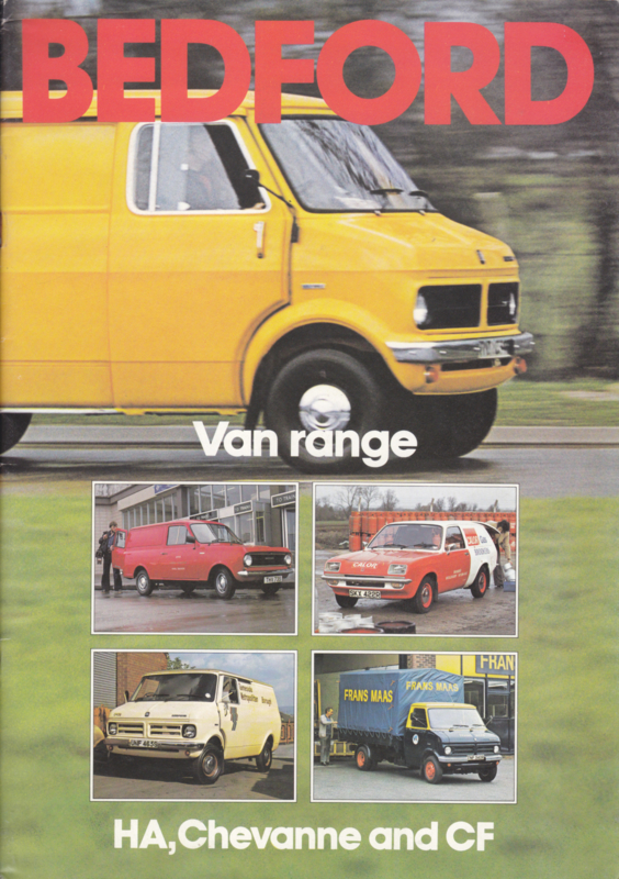Van range brochure UK, 24 pages, 10/1978, English language