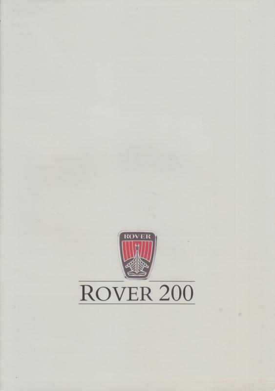 200 Series brochure, 8 pages, A4-size, 1987, Dutch language, # EO 348