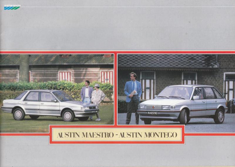Maestro & Montego, 32 pages, A4-size, 4/1985, Dutch language