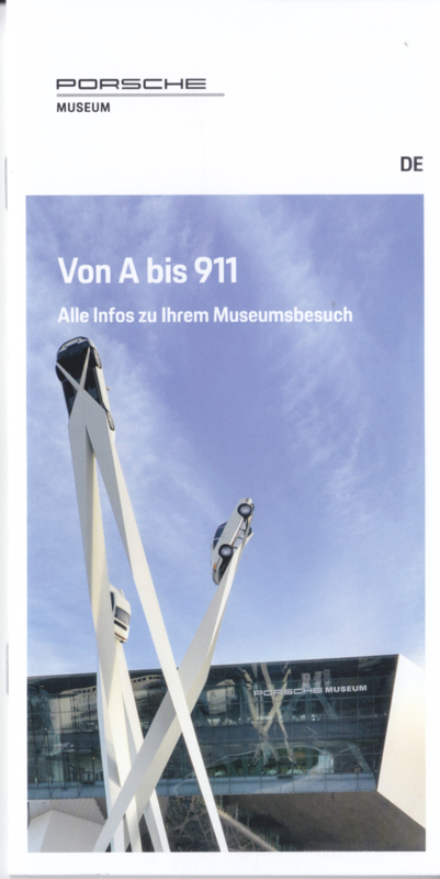 Museum brochure, 16 pages,  2018, German language