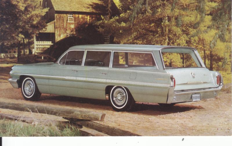 Bonneville Custom Safari, 1962, standard-size, USA