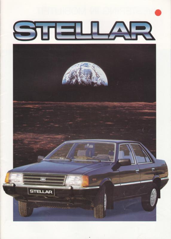 Stellar brochure, 20 pages, about 1985, Dutch language