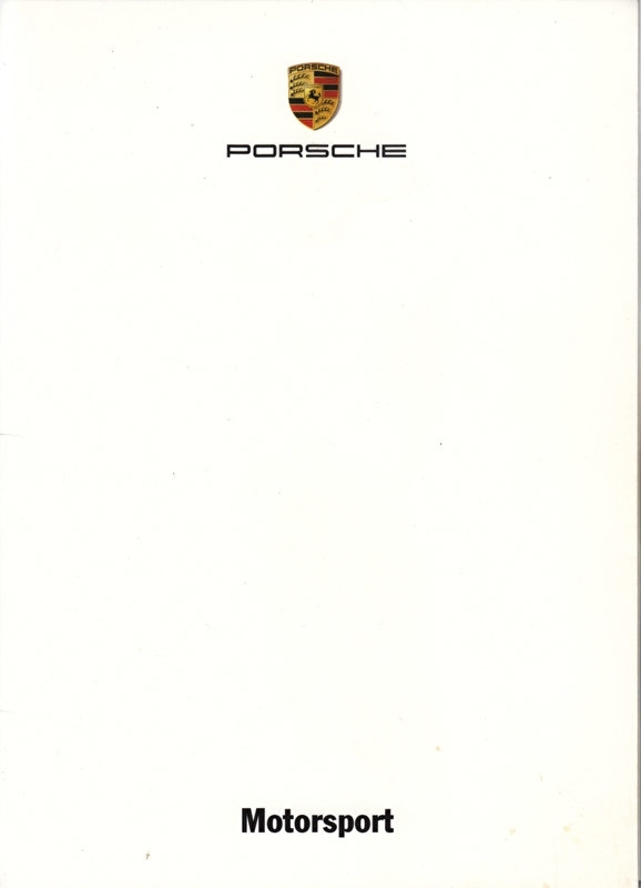Motorsport, A6-size set with 10 postcards in white cover, 2007, WVK 821 400 07