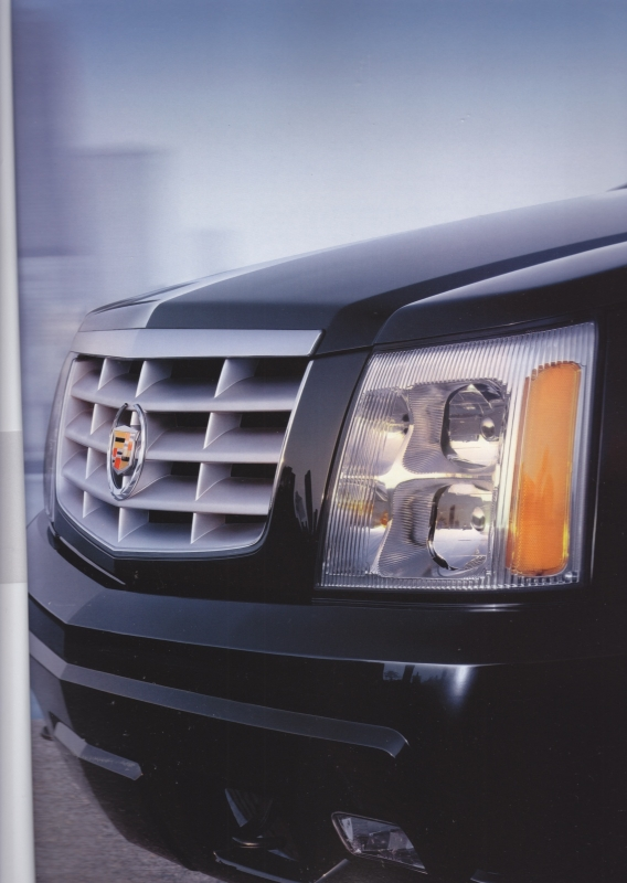 Escalade  prestige brochure, 52 pages, USA, 08/2003, English, large size