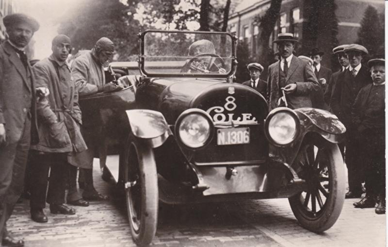 Cole 8 cylinder 1916, Spanjersberg, Car museum Driebergen