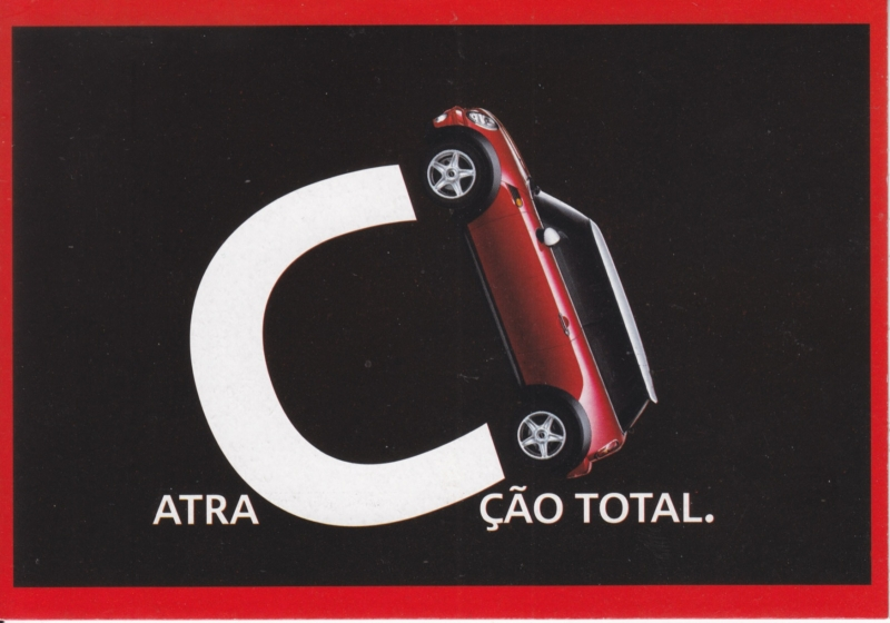 Cooper, DIN A6-size, PubliCards freecard, Portuguese language, # 1043